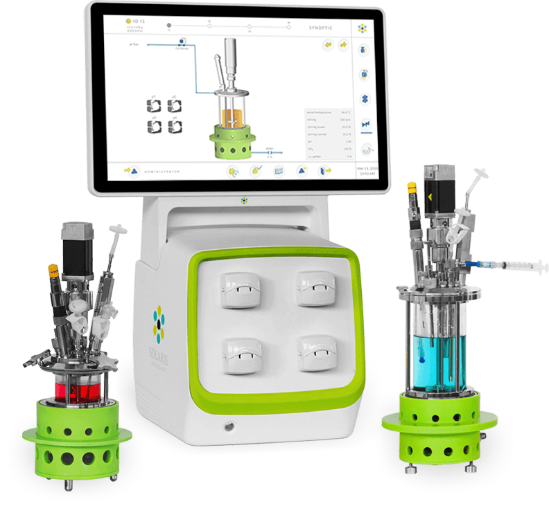 IO - lab scale mini bioreactors & fermentors