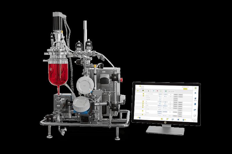Kronos - Standalone tangential flow filtration benchtop