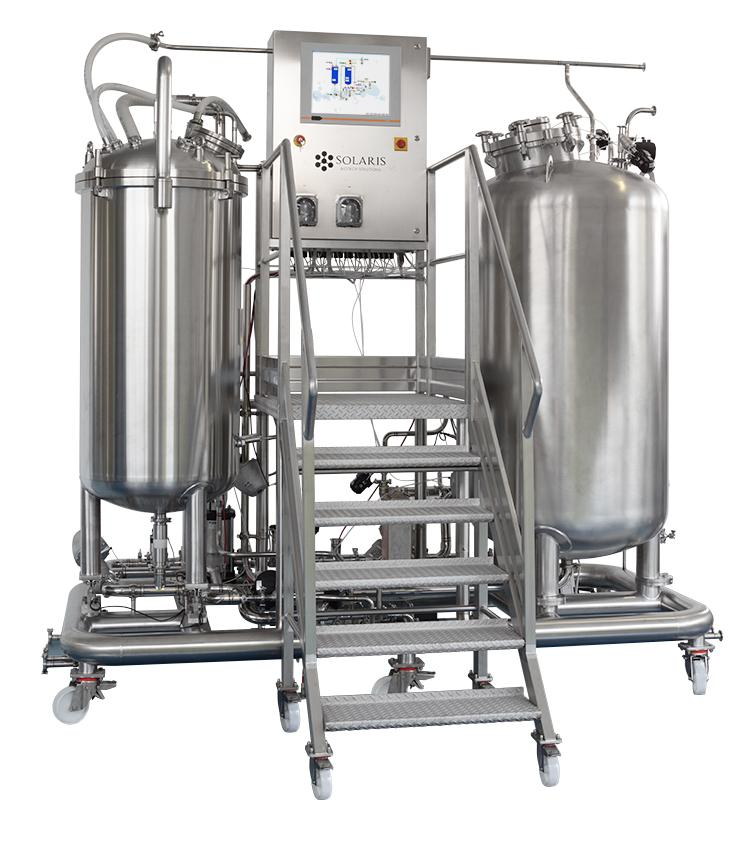 Bioprocess CIP system