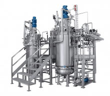 Production fermentors and bioreactors