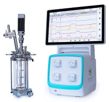 Pressure Control Benchtop Lab Scale Fermentor | Small scale pressure control fermentors.