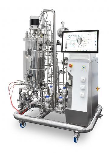 M-Series Pilot Scale Bioreactor + Fermentor   Standard sterilizable in place solutions