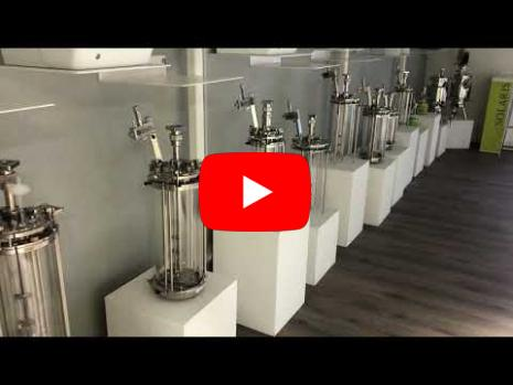 Embedded thumbnail for Video - Full array of PCS and glass bioreactors